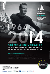 French poster for the 50th anniversary event.