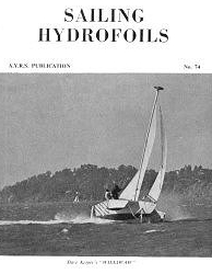 1974 AYRS quarterly magazine on hydrofoils for offshore sailing!