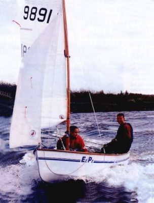 The heron 11' dinghy