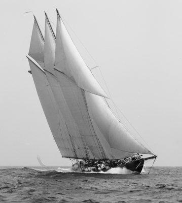 The schooner Atlantic owned the trans-Atlantic record for so long, many thought it unbeatable...