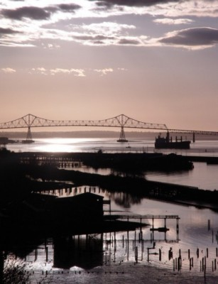 Another amazing sunset over the Astoria-Megler Bridge  (PM photo)