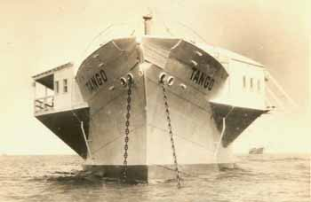 The Tango was converted into a casino and anchored off Long Beach, California in the 1930's.