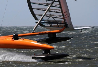 World's fastest sailing craft