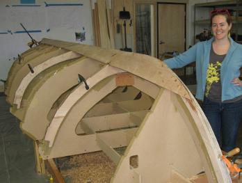 ADX womans boatbuilding